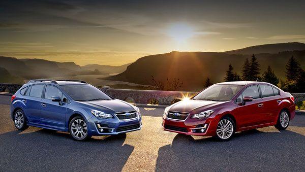 Семейство Subaru Impreza получило косметические изменения