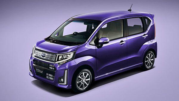 Новый Subaru Stella дебютировал в Японии