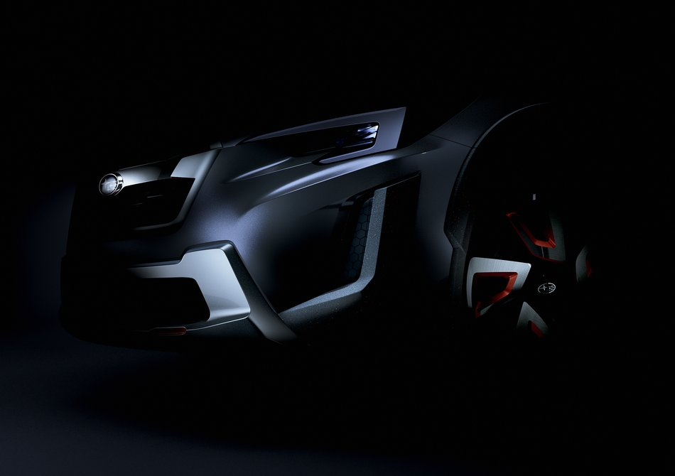 Subaru покажет новый концепт модели XV