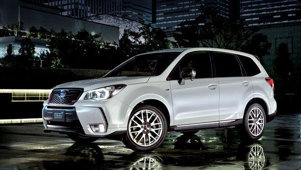 Subaru Forester tS STi будет продаваться только в Японии