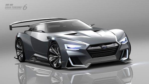 Subaru полностью показала виртуальный концепт Viziv GT Vision